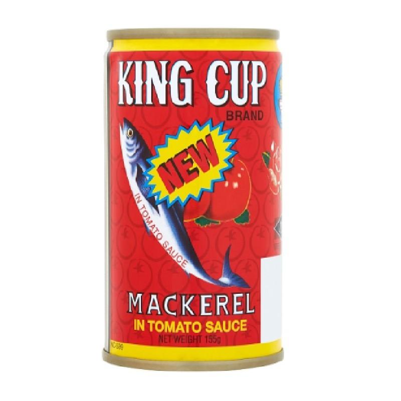 King Cup Mackerel in Tomato Sauce 155g