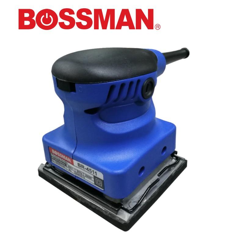 BOSSMAN BR4511 Sander Machine 200W Electric Sander Woodworking Sanding Tools Finishing Makita Style