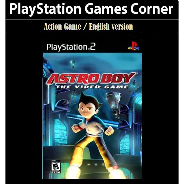 PS2 Game Astro Boy: The Video Game , Action Game, English version / PlayStation 2 / Movie Game