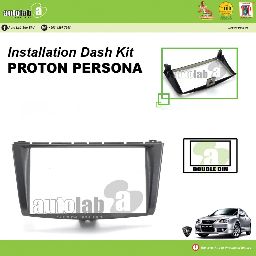 Player Casing Double Din Proton Persona