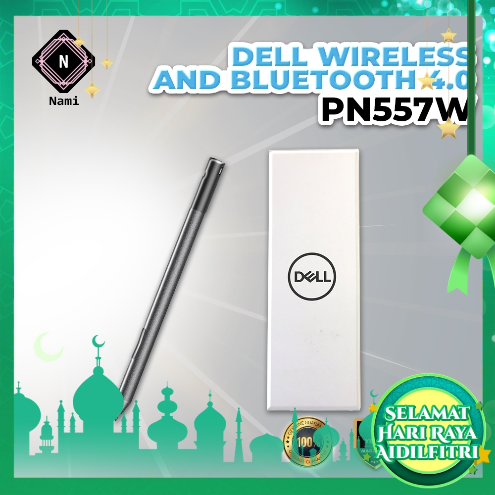 Dell Premium Active Pen PN557W White LED Indicator Wireless and Bluetooth 4.0