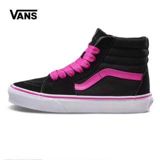 5ec6c0f6d0061e Vans SK8-Hi Top Black Rose Pink Women Sneaker Shoe | Shopee Malaysia