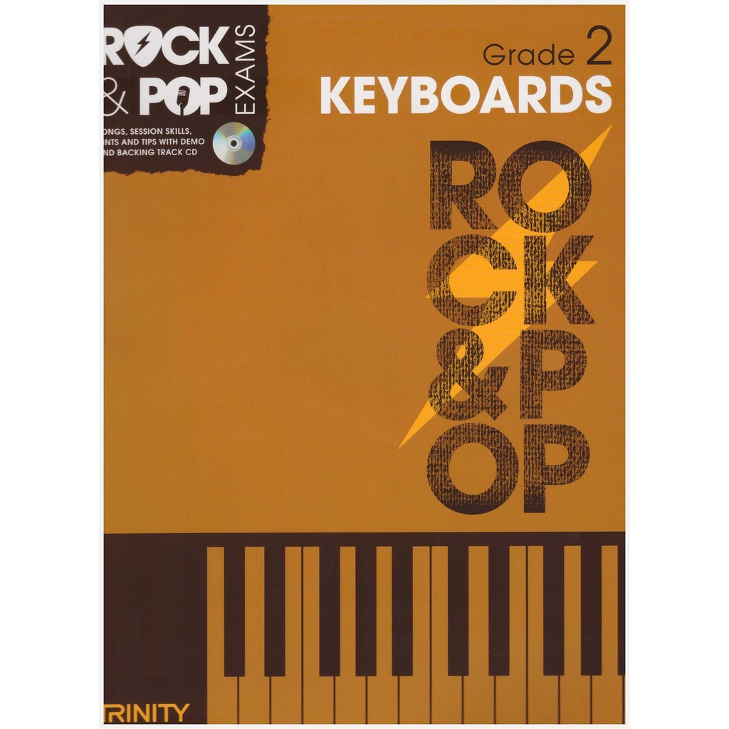 Trinity Rock & Pop Keyboard Exam Grade 2 (2012-2017) / Keyboard Book / Practical Book