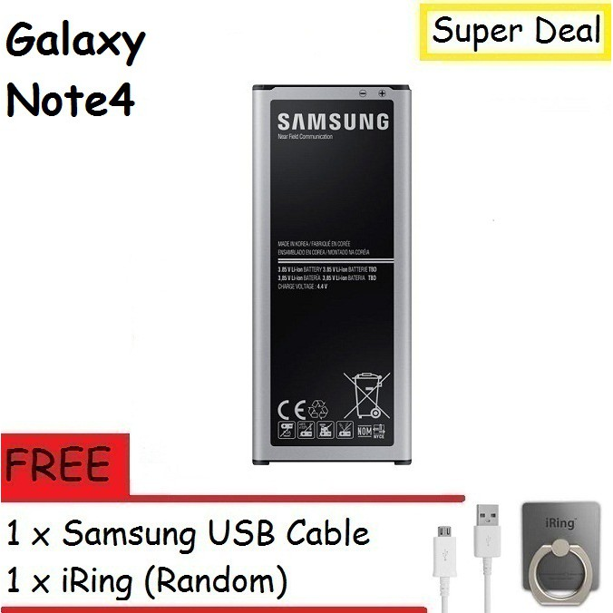 Samsung Galaxy Note4 N910 Battery With Free Gift