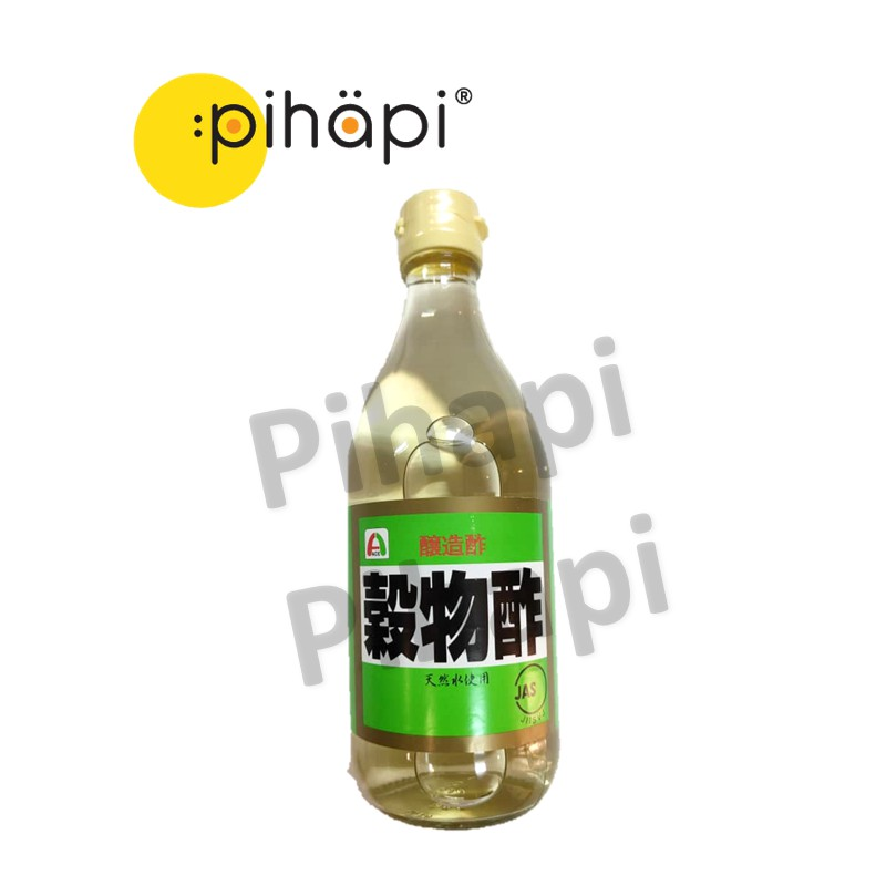 [IMPORTED FROM JAPAN & NON-HALAL] 500ml Japanese Grain Vinegar for Making Sushi / [日本进口,现货] 日本制作寿司谷物醋