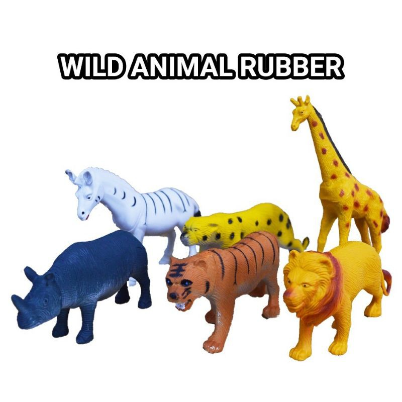 6-8 pcs Animal toys dinasour toys  set plastic toys