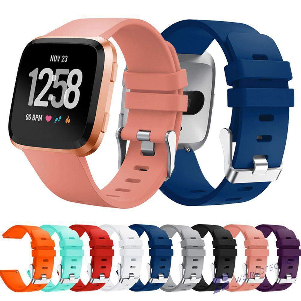 READY✈Silicone Sport Wristband Strap Bracelet for Fitbit Versa Smart Watch