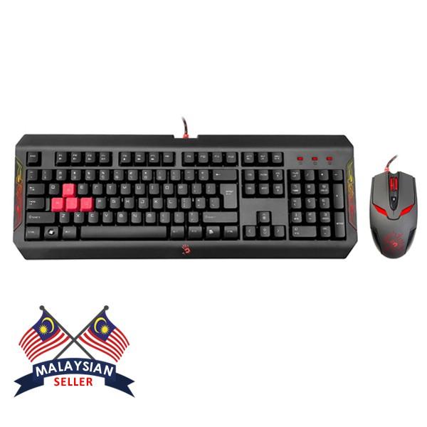 COMBO SET Bloody Q1100 Winner Gaming Blazing Desktop Mouse & Keyboard