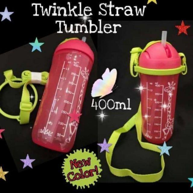 [1 PC] TUPPERWARE KIDS STRAW TUMBLER TWINKLE (TRAINING CUP & PRINTABLE STRAW TUMBLER) 250ml 350ml 400ml