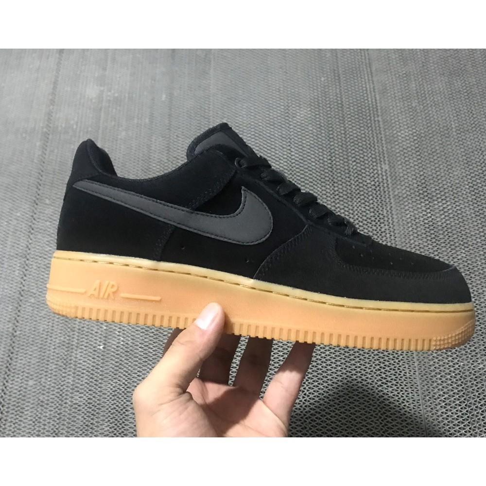 nike air force 1 07 black gum