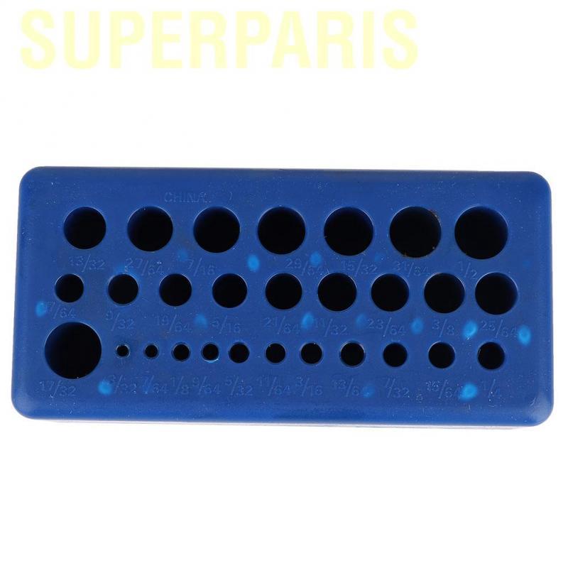 TKSE 28pcs Transfer Punch Set Carbon Steel Punch Professional Machinist Thread Tool Kit
