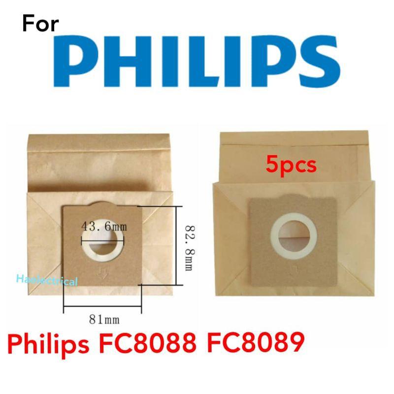 Philips vacuum dust bag FC8088 FC8089 (5pcs)