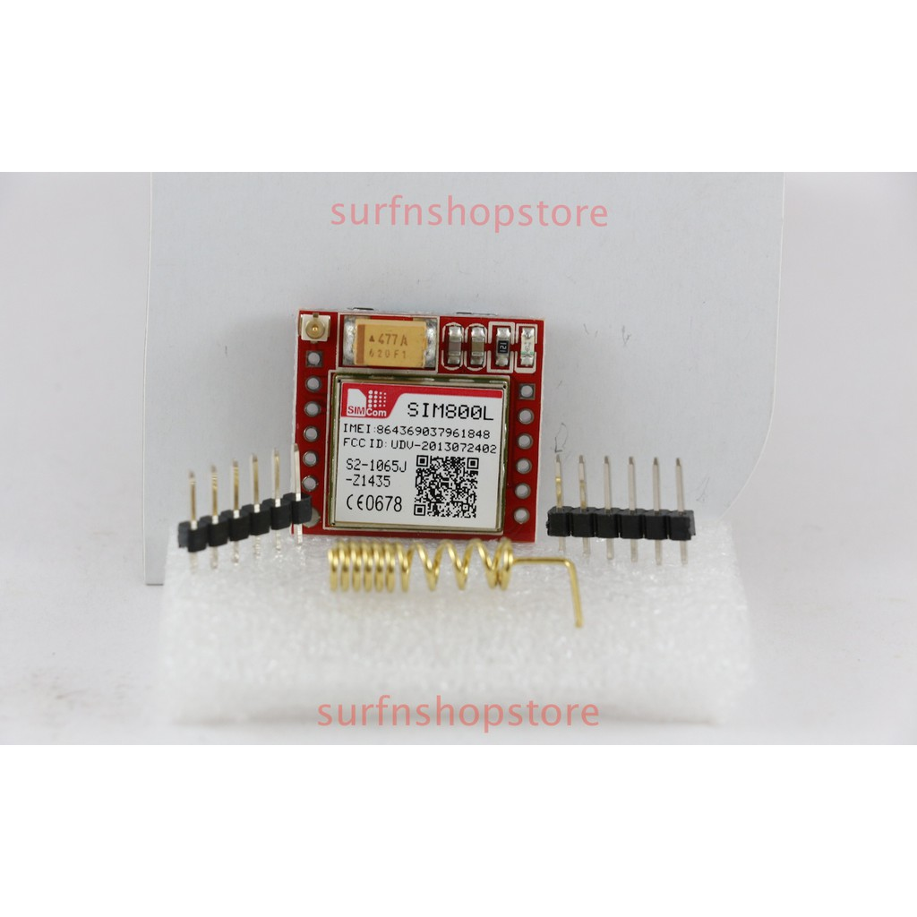 SIM800L GPRS GSM Module for Arduino ( with Antenna and SIM Slot )