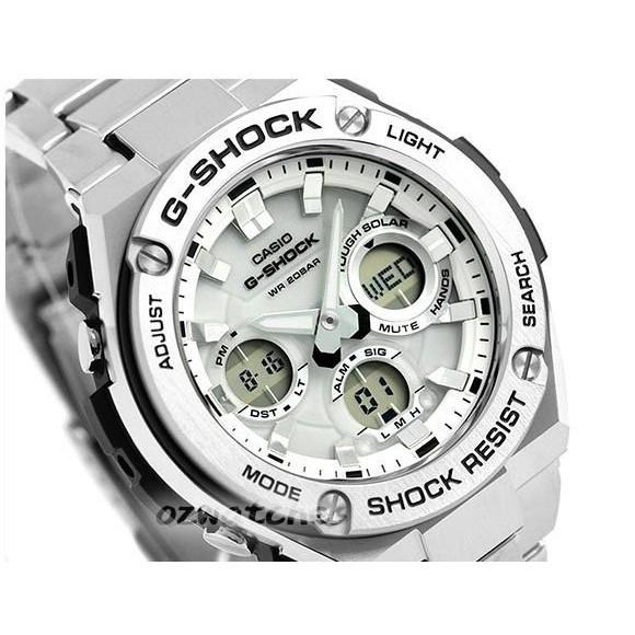 Watch Casio G Shock Steel Solar Gsts110d 7 Original Shopee