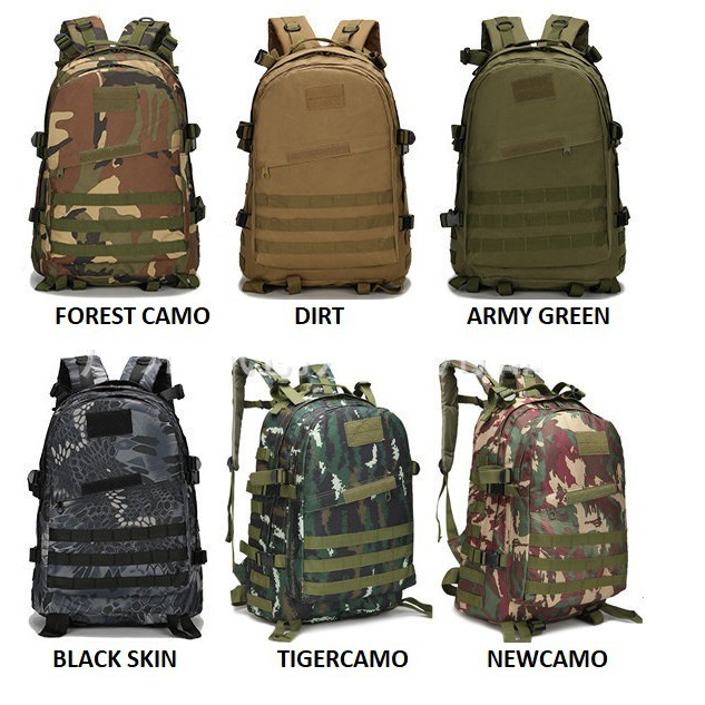 42a322b100 SAGE Army Bag Military Tactical Backpack Outdoor Sport 3D Backpack 40L