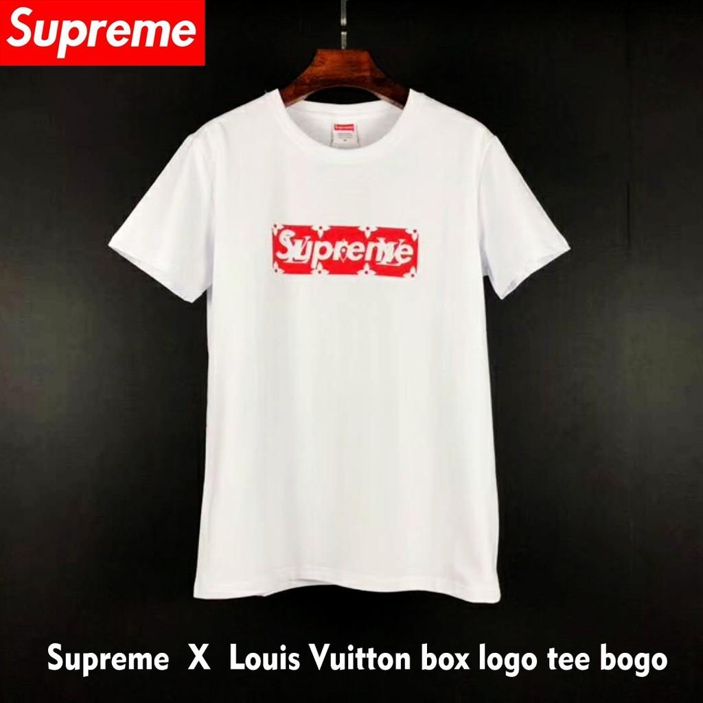 Pre Order Original Supreme X Louis Vuitton Men T Shirt Short Sleeve Sho Malaysia