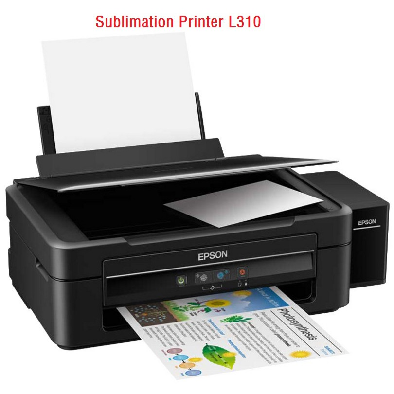 Epson L310 Inkjet Printer for Sublimation Printing+Continuous ink supply  system