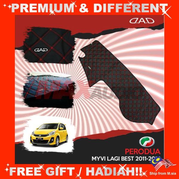 [FREE Gift] PERODUA MYVI LAGI BEST 2011 DAD GARSON VIP Non Slip Dashboard Cover Mat