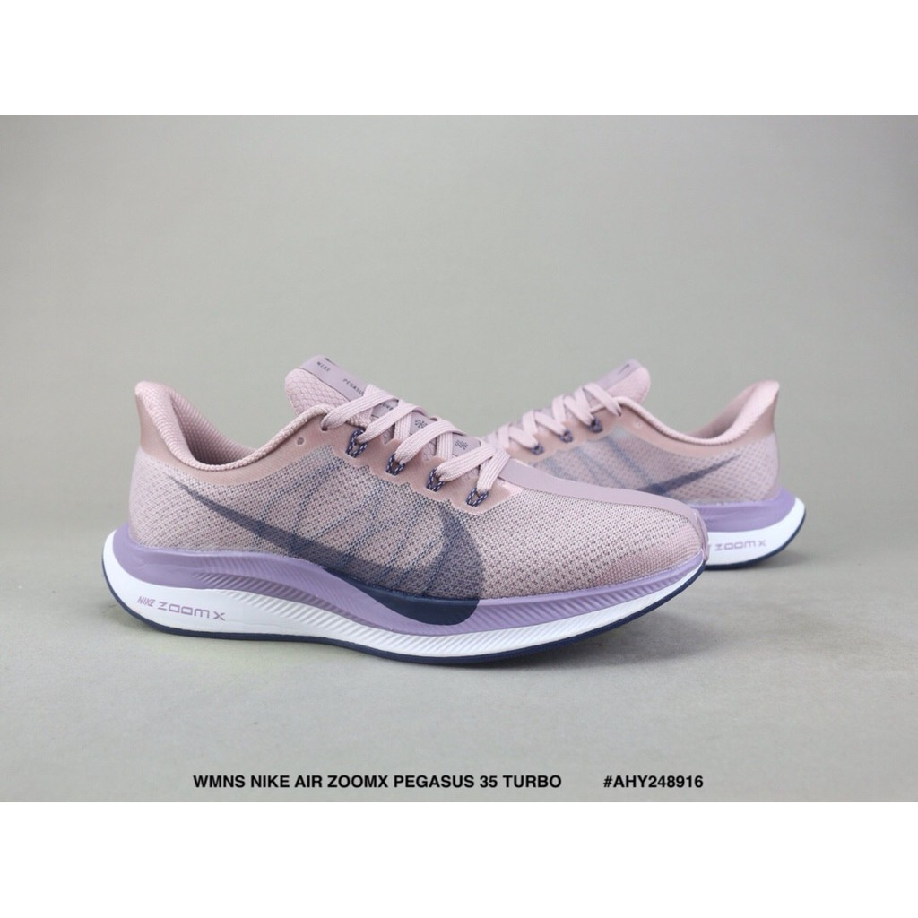 frente Continuo infancia  2020 Ready Stock NIKE ZOOMX PEGASUS 35 TURBO Mesh Running Shoes ...