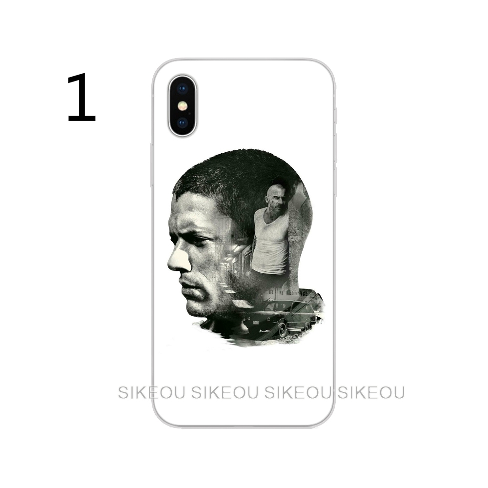 Fashion Prison Break Phone Case IPhone 6 7 8 X Iphone 6 7plus Samsung S6 S7 S8