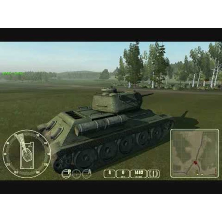 PS2 Game WWII Tank Battles, Vehicular Combat Game, English version / PlayStation 2