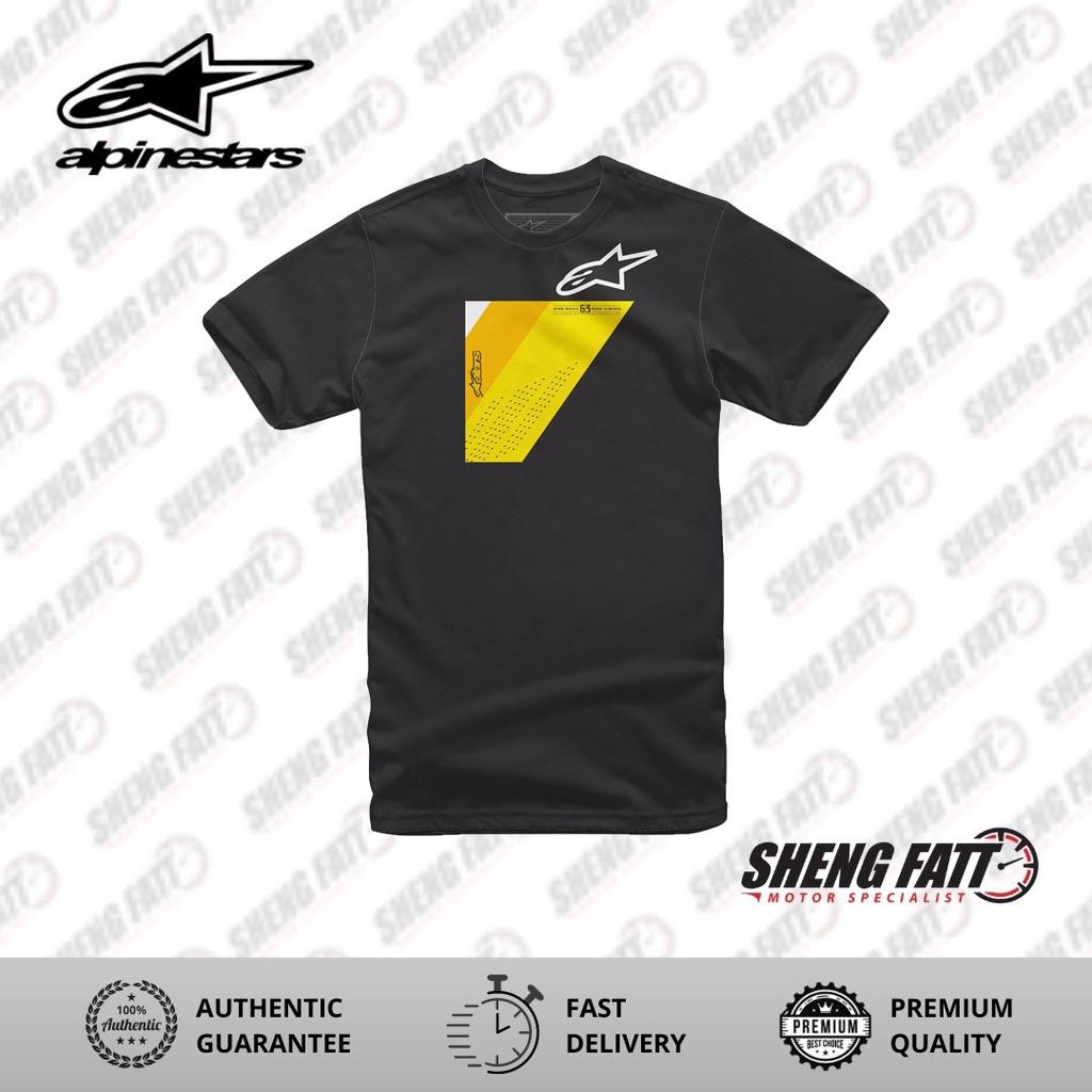 Alpinestars Wedge Tee Casual Unisex T-shirt (Black)