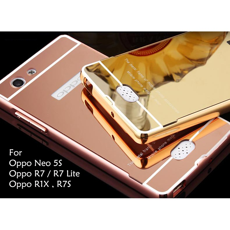 Oppo F1 F1 Plus F1S Neo 7 Neo 9 A37 A37F Mirror Cover Case Casing Housing | Shopee Malaysia