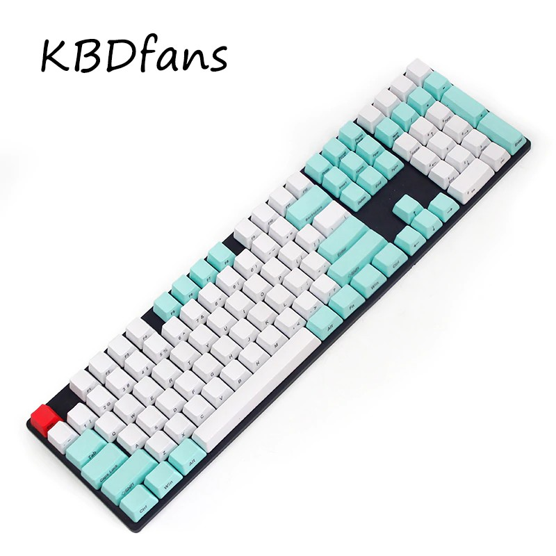 SidePrinted keycaps WASD with keycap puller esc red(wried mechanical  keyboard)