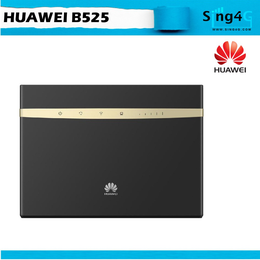 Huawei B525 4G 300Mbps CAT6 LTE SIM Router