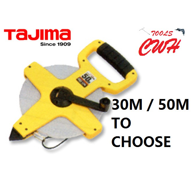 TAJIMA JAPAN ENGINEER SUPER NYLON-COATED STEEL LONG TAPE RULER MEASUREMENT MEASURER MEASURING