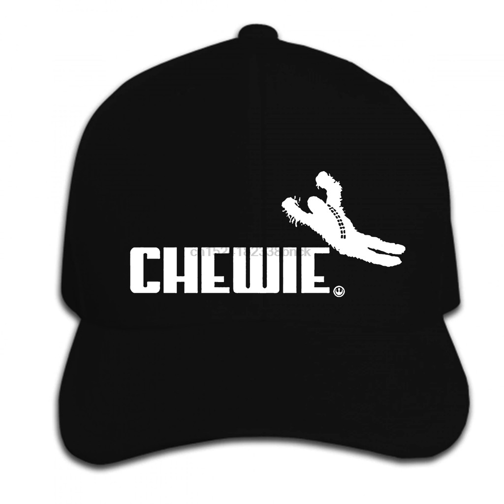4e8de5e169e43 Print Custom Baseball Cap Hip Hop Mens Summer Fashion Chewie Chewbacca Han  Solo Jedi Rebel Black women Hat Peaked cap