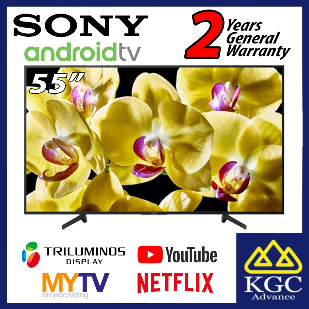 "SONY 55"" KD55X8000G 55X8000G Android 4K UHD LED TV KD-55X8000G"