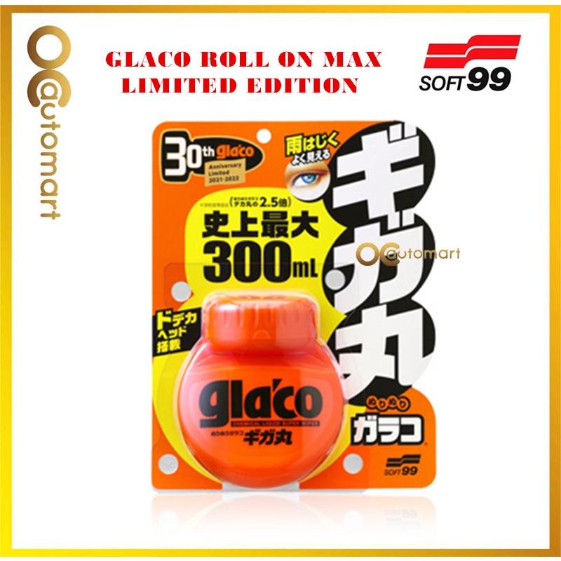 Soft 99 Glaco Roll On MAX (300mL / Chemecal Liquid Super Wiper)