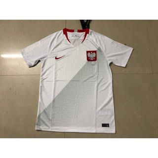 competitive price e9f09 63d53 2018 Poland Home World Cup national team football jersey ...