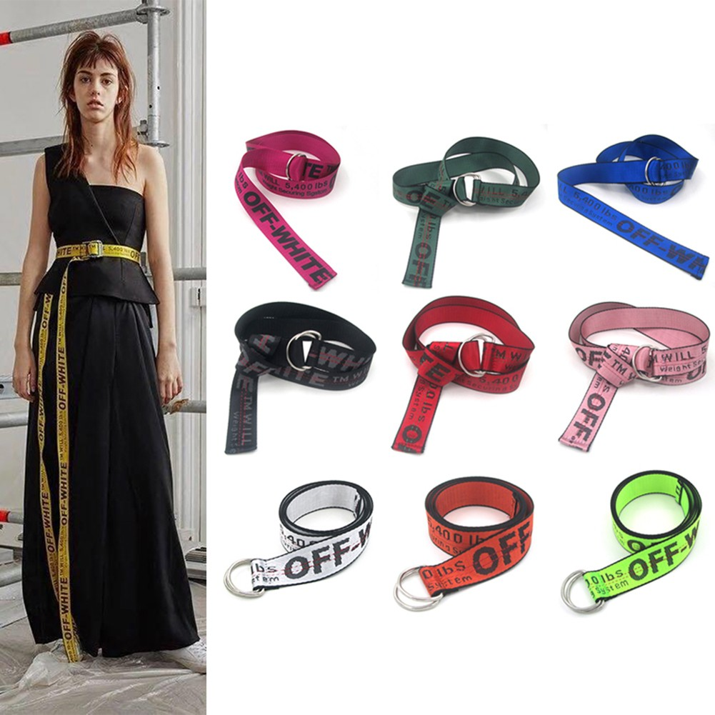 f289bace04a1 OFF WHITE OW INDUSTRIAL BELT