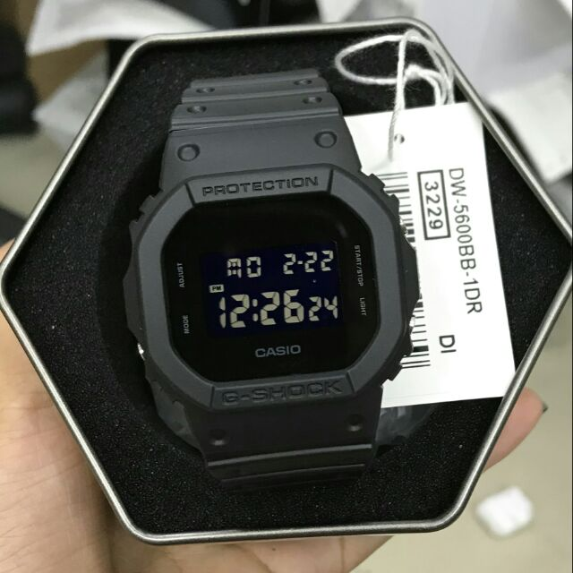 7af28e5deac8 Casio G-Shock DW-5600BB-1 Black Resin Watch
