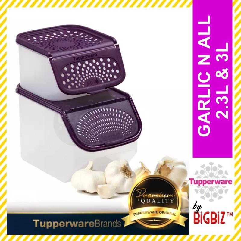 Original TUPPERWARE Garlic N All 2.3L & 3L