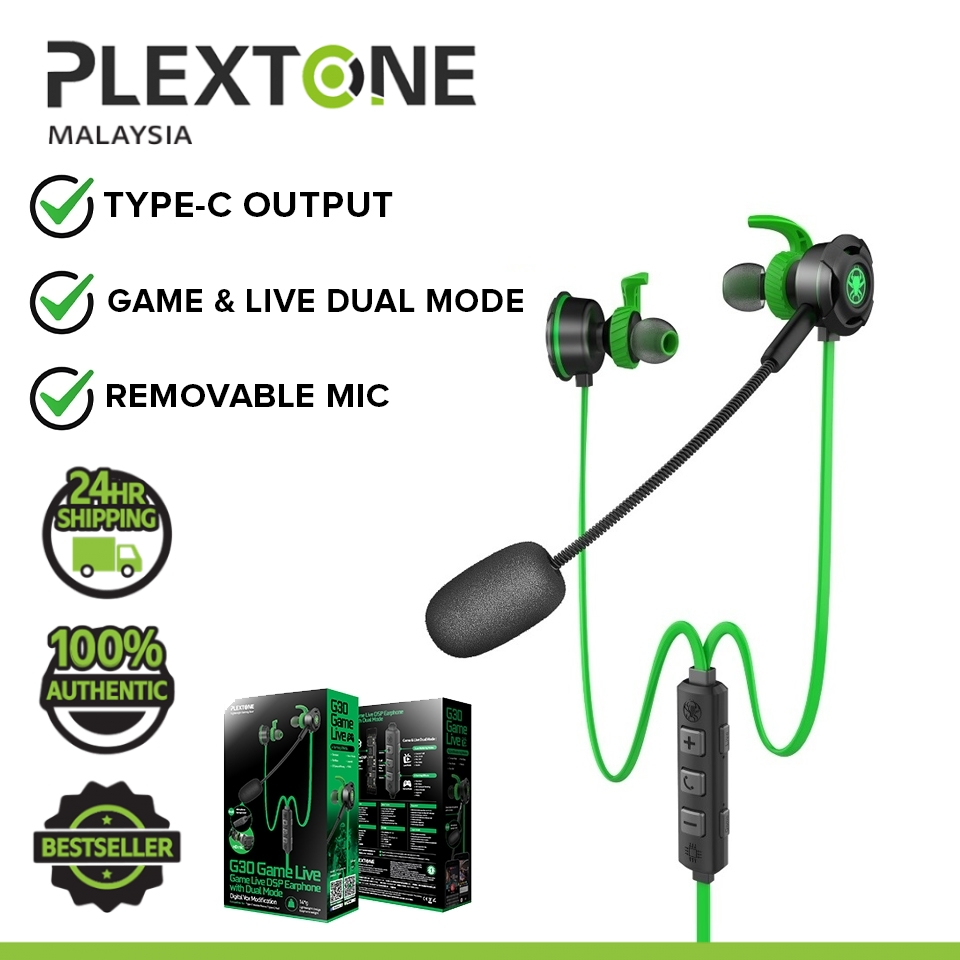 PLEXTONE G30 GL Game Live Dual Mode DSP Gaming Headset HD Microphone 6 Gaming Effects
