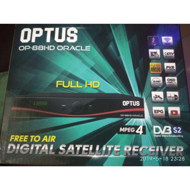 OPTUS OP-88HD ORACLE NINMEDIA RECOMMEND