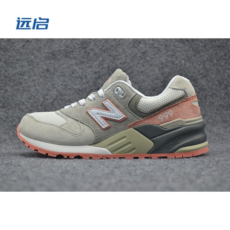cheap for discount 6ec78 bbc5e new balance 999 nb999 grey pink color for women men sport running shoe  size36-44