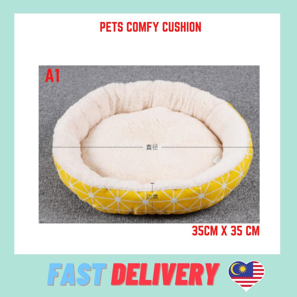 Comfy And Soft Pumpkin Pet Bed