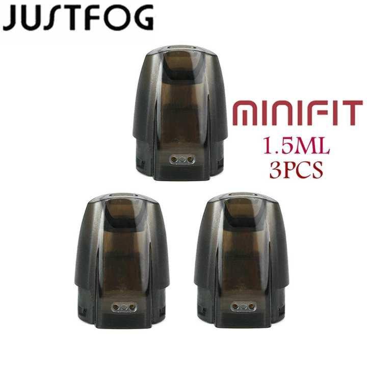 【free shipping】3pcs Original JustFog Mini Fit Kit Pod System Cartridge