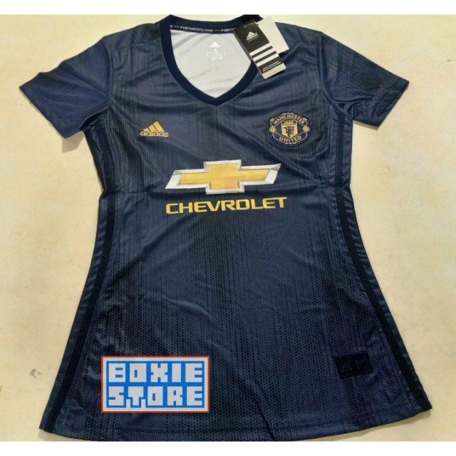 more photos 36cb5 006e6 [Clearance] Manchester United Away 3rd 18/19 Woman Girl Jersey (ready  stock, ship tmr!!!)