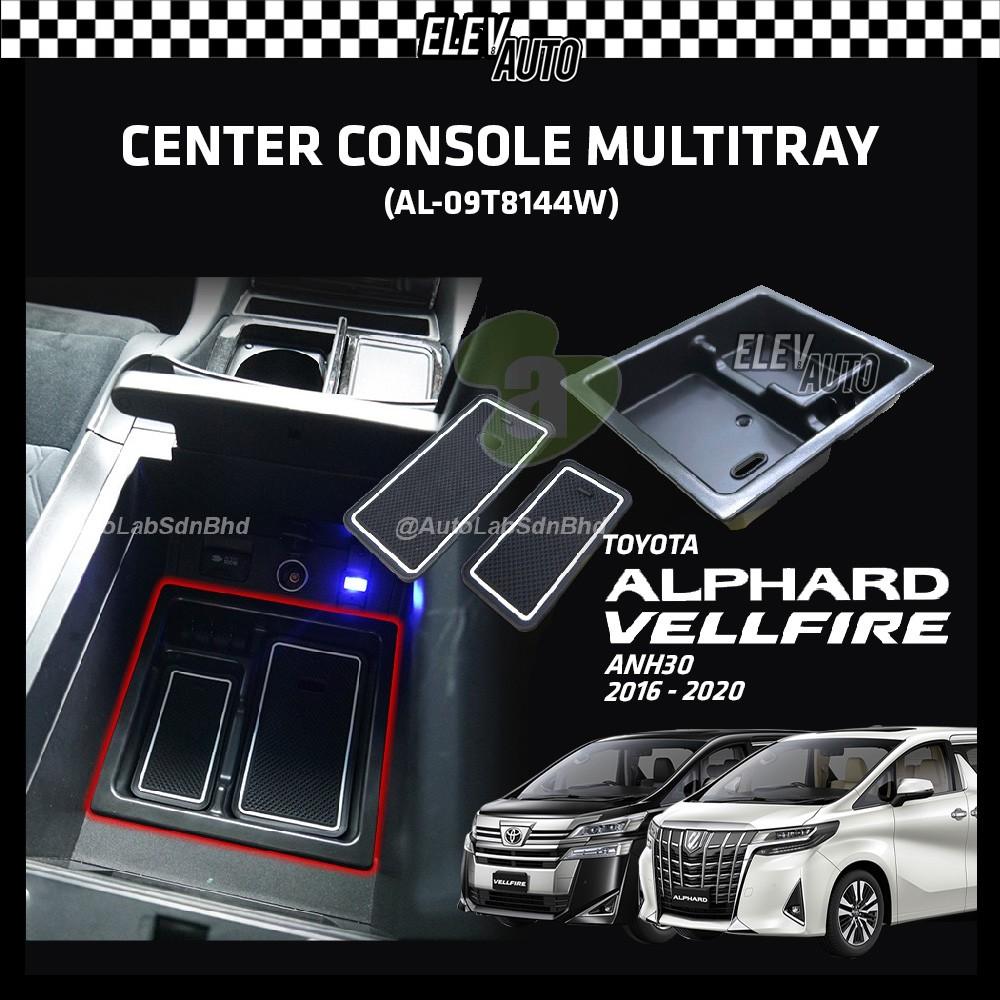 Toyota Alphard / Vellfire ANH30 2016-2021 Armrest Center Console Multitray Storage Box (AL-09T8144W)