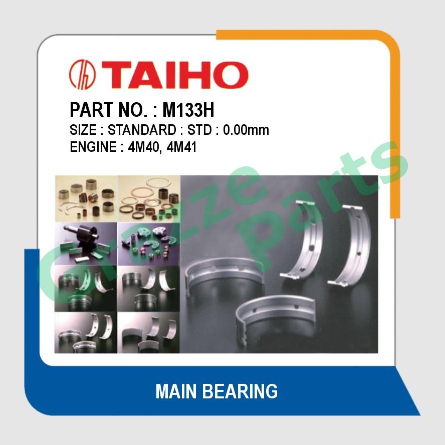 Taiho Main Bearing STD Size M133H for Mitsubishi Pajero 4M40