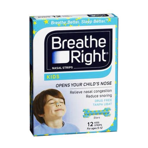 Breathe Right Nasal Strips Kids 12\'s