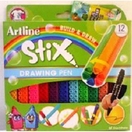 ARTLINE ETX-200 STIX 12 DRAWING PEN ISBN: 4974052863004