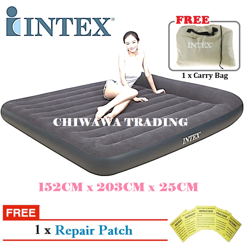 PROMOTION 64143  INTEX Inflatable Bubble Air Mattress Relax Massage Air Bed Sofa