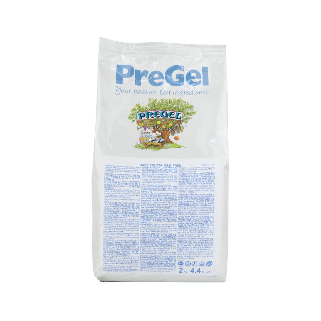 PREGEL, Fruit Sorbet Base Milk Free, 2 kg