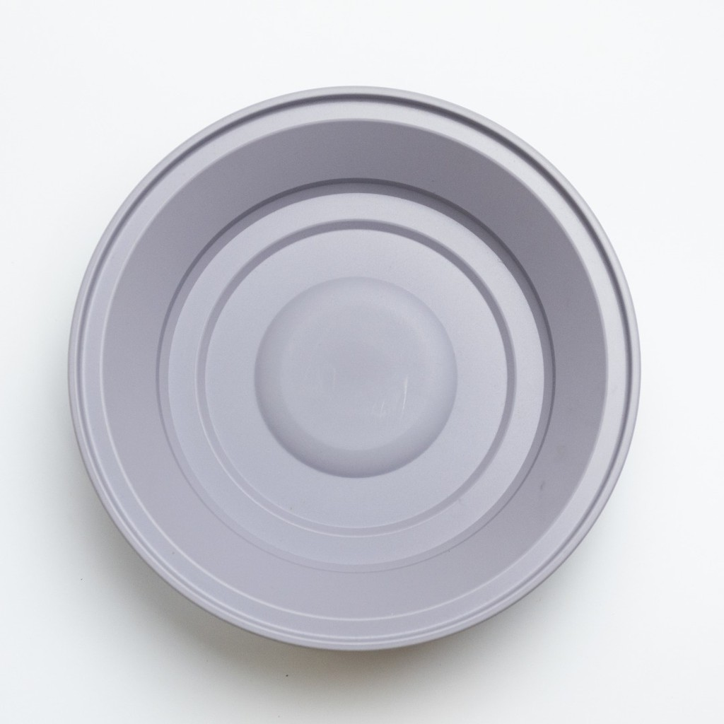【Clearance】Budget Large Grey Plastic plate and bowl for pet 塑胶碗碟